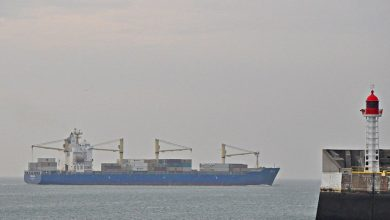 Photo of Goldenport offloads containership