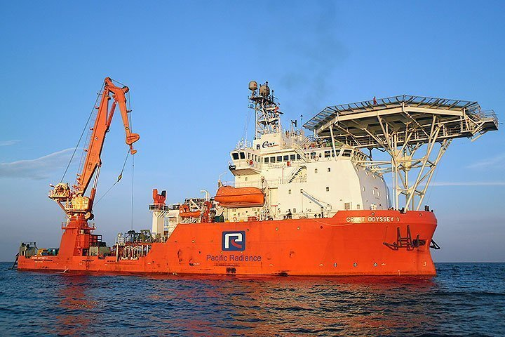 Pacific Radiance's DSV utilisation drops to zero as subsea sector tanks