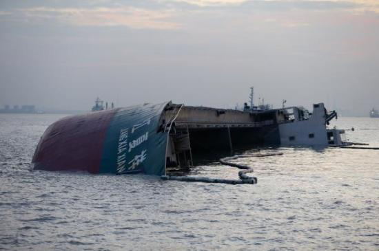 China Shipping tanker collides with bulker at Shanghai Port