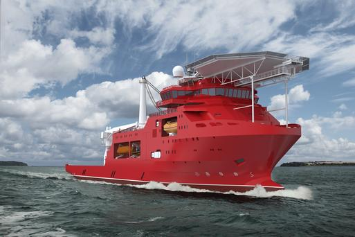 Ultra Deep Group heads to China Merchants Heavy Industry for new dive support vessel
