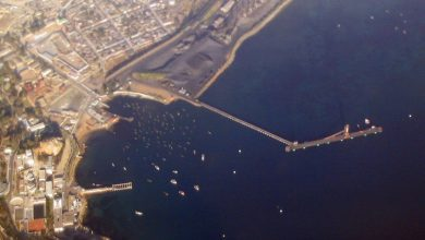 Photo of Port of Coquimbo closed while tsunami damage assessed