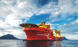 Eidesvik Offshore construction vessel gets work in Ghana