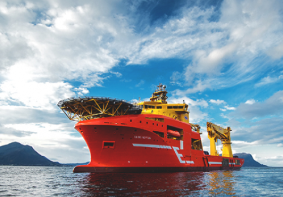 Eidesvik Offshore construction vessel gets work in Ghana