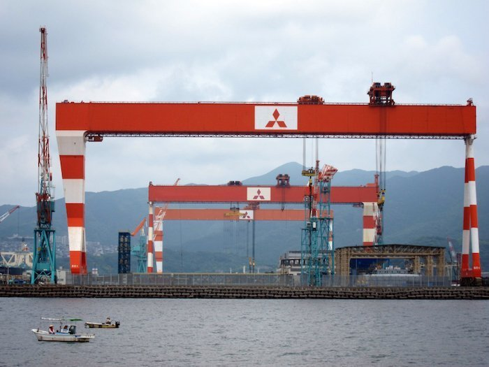 Mitsubishi develops world's first rectangular ship scrubber