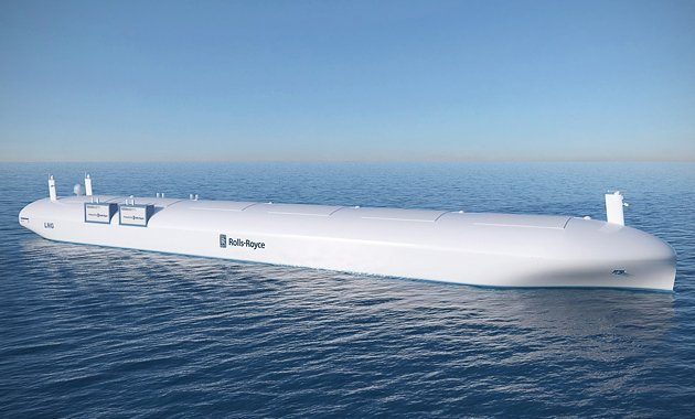 Inmarsat signs up for Rolls-Royce's autonomous ship project