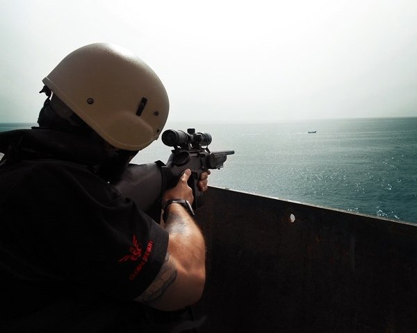 Maritime security firms pull UK guards from ships bound for the Gulf
