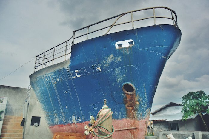 Ship memorial unveiled on second anniversary of Typhoon Haiyan