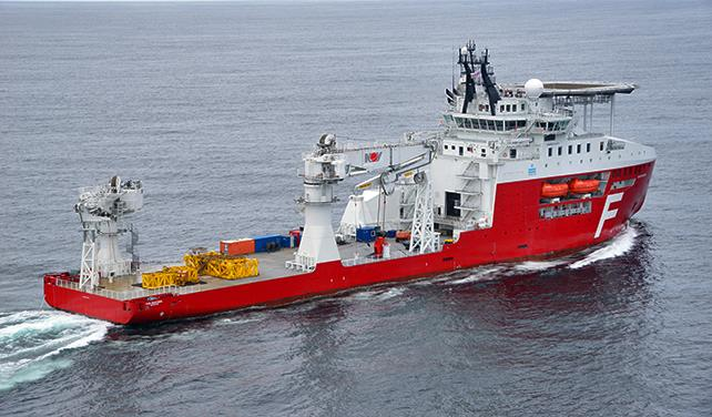 Farstad Shipping wins subsea work from Total