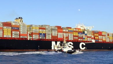 Photo of Kidnapped crew from MSC boxship released by pirates