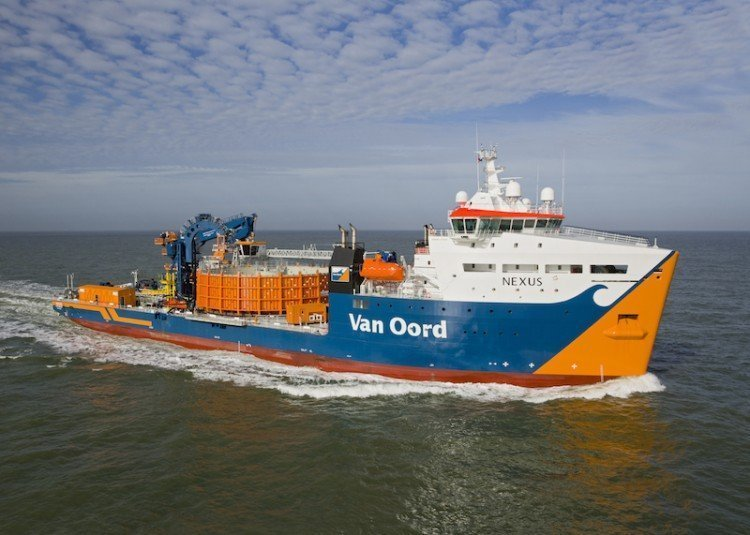 Van Oord wins Walney Extension contract from Dong