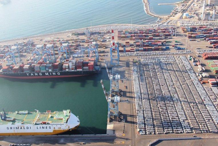 Ashdod port fined for sulfur spill
