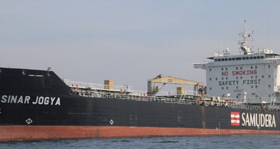 Samudera Shipping offloads another