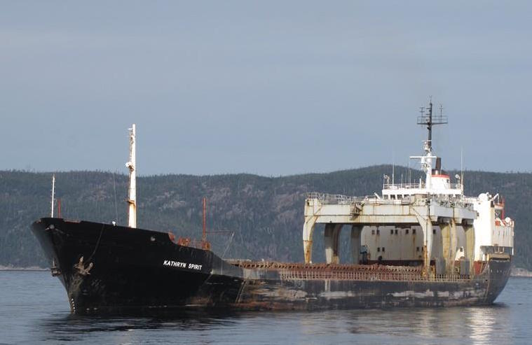 Looming environmental disaster in Quebec as discarded ship could break up