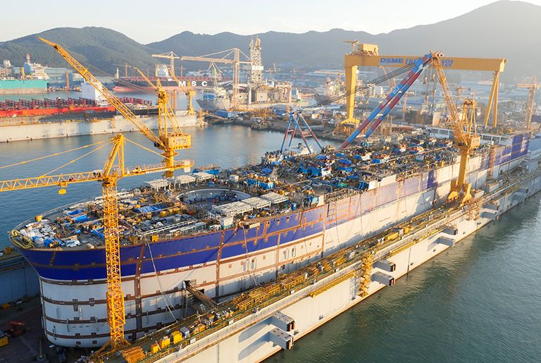 DSME CEO in Europe to quell shipowner fears