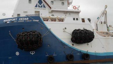 Photo of Irish vessel apprehended over military shipment bound for Yemen