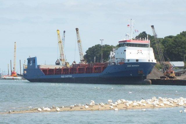 Drunken captain grounds ship, blocks entrance to port of Rostock