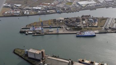 Photo of Jobs lost at Harland and Wolff shipyard in Belfast