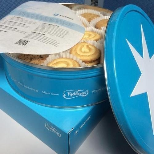 Maersk Danish cookies