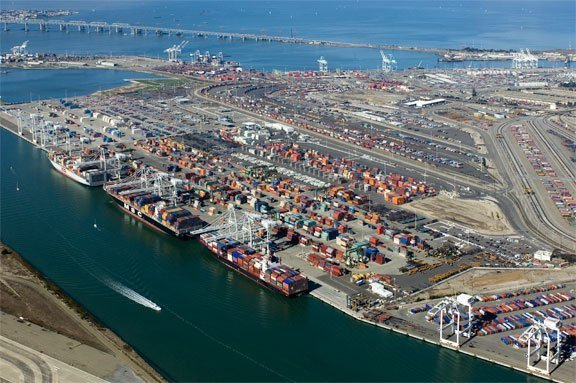 Port of Oakland diesel emissions down 81% since 2005