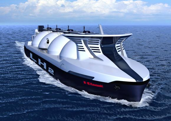 Kawasaki Heavy teams with Shell to develop hydrogen carriers