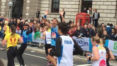 Photo of London Marathon run raises £5,000 for Sailor's Society