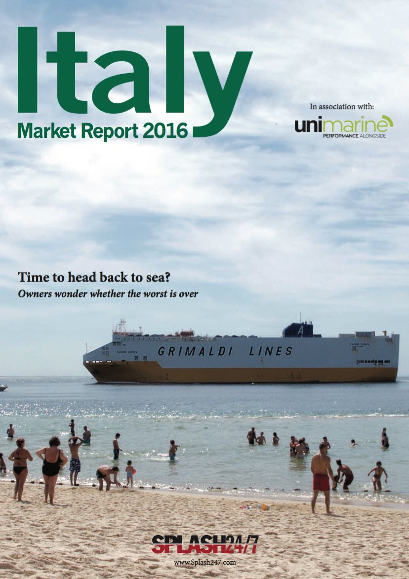 Italy Market Report 2016 cover