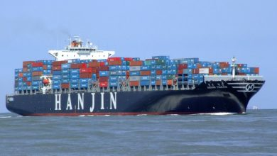 Photo of Hanjin's longest voyage yet