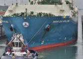 Trio of LNG tankers set new milestone for expanded Panama Canal