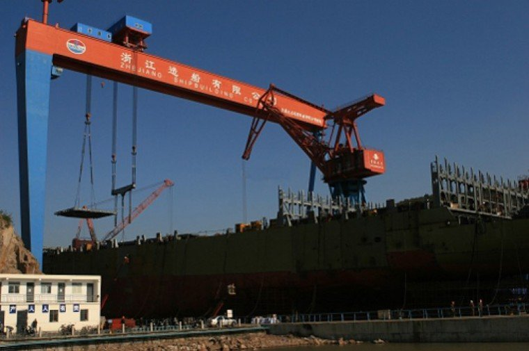 Chinese real estate major joins Zhejiang Shipbuilding restructuring