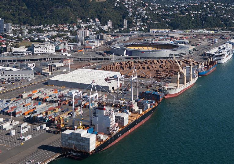 Wellington port's earthquake repair bill stands at $247m