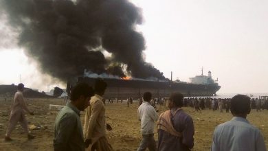 Photo of Protests ring out at deadly Gadani