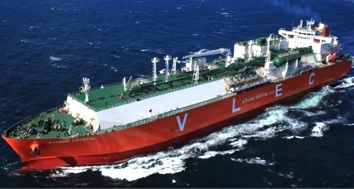 Record breaking ethane carrier delivered