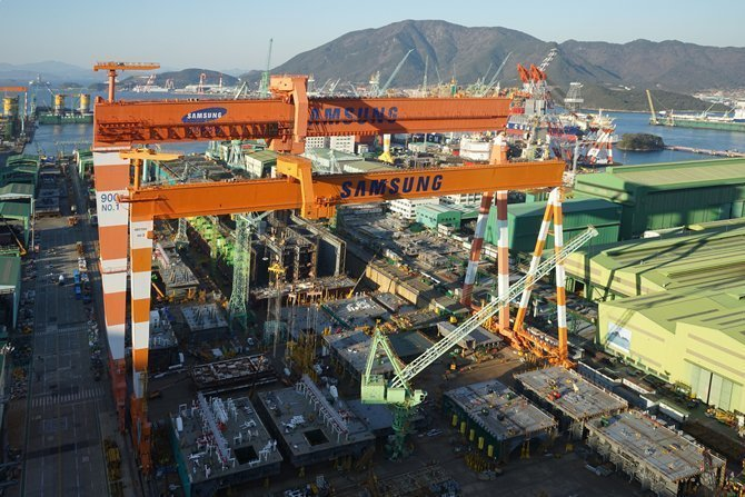Samsung Heavy to mothball a floating drydock