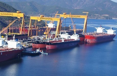 Sungdong Shipbuilding officially placed under court receivership