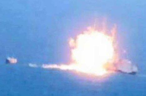 Seven dead off Yemen as rocket sinks Iranian ship