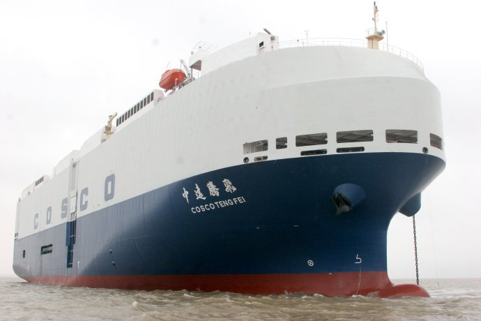China Cosco signs auto shipping partnership with Chery