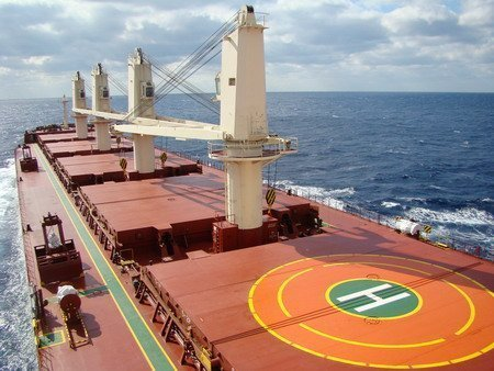 Akmar makes rare bulker order