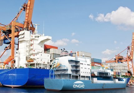 Engie sells LNG shipping business to Total