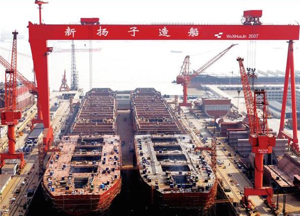 Yangzijiang Shipbuilding adds another six vessels to its orderbook
