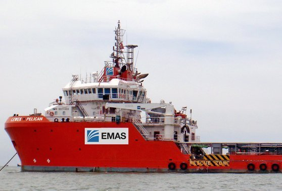 Emas Offshore PSV contract terminated by Standard Chartered