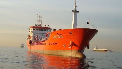 Photo of Turkish tanker seized by militants in Libya