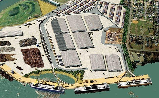 Paulsboro Marine Terminal opens