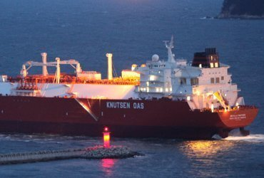 Holed Knutsen LNG carrier heads for Cebu for repairs