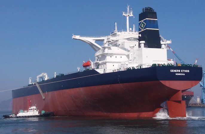 Euronav completes sale of six VLCCs to International Seaways