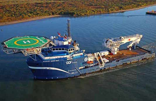 Harvey Gulf International Marine secures charter for CSV