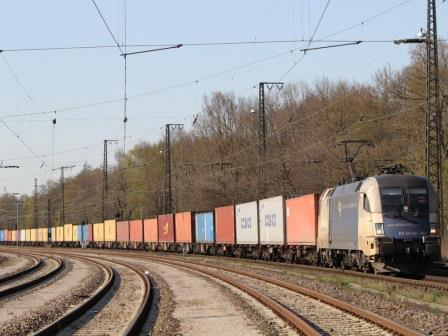 Train departs Chengdu with 40 containers bound for Milan