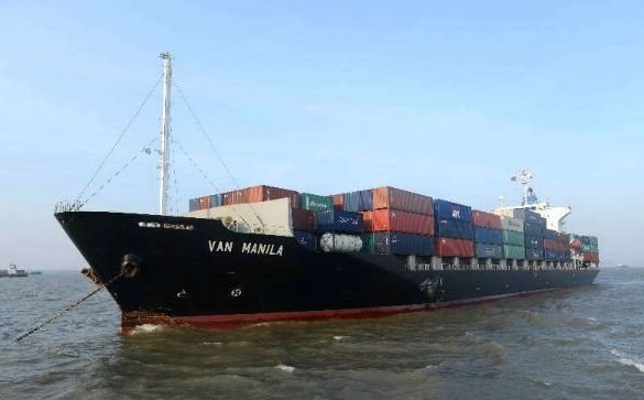 Shanghai Maritime Court arrests hit-and-run boxship