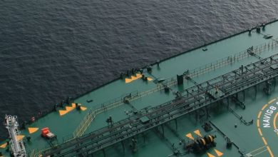 Photo of Navig8 tanker attacked off Muscat