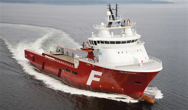 Solstad Farstad fixes two OSVs to Total in South Africa