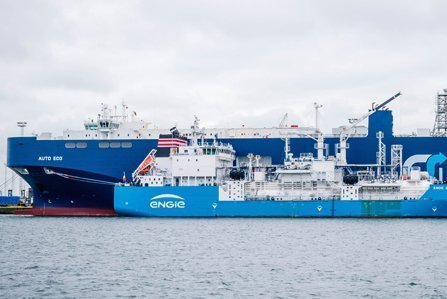 Landmark ship-to-ship LNG bunkering debuts in Zeebrugge